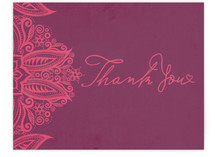 Henna Inspired Thank You Cards