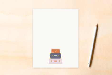 Well Traveled Women's Flat Stationery