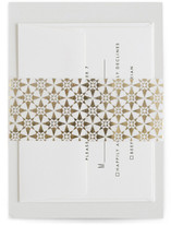 This is a gold belly band by Carolyn Nicks called distressed tile in belly band.