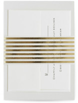 This is a gold belly band by Minted called Bold Stripes in belly band.