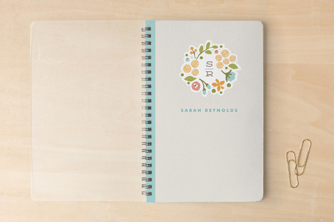 Cerulean Blooms Notebooks