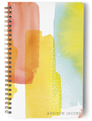 Modern Sunset Day Planner, Notebook, or Address Book