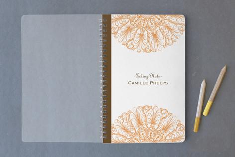 Round Flourish Notebooks