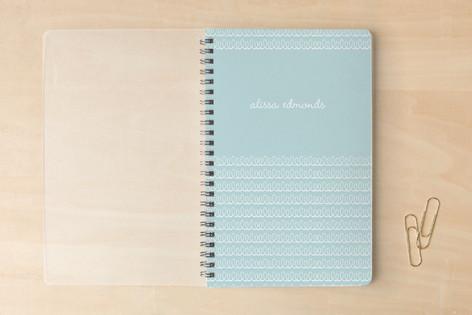 swirly stamp Notebooks