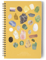 This is a colorful journal by Baumbirdy called Rock Solid Ideas with standard printing on premium cover stock in notebook.