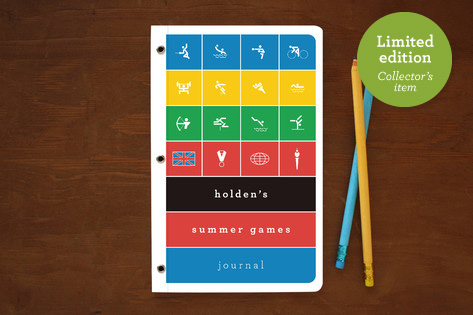 Summer Games Notebooks