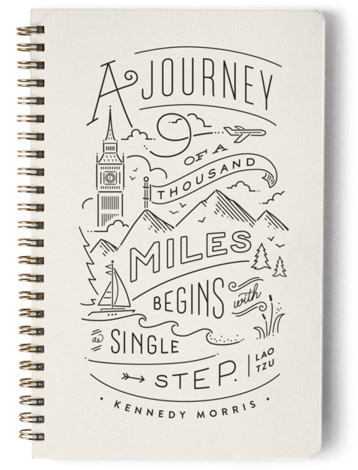 The Journey Day Planner, Notebook, Or Address Book