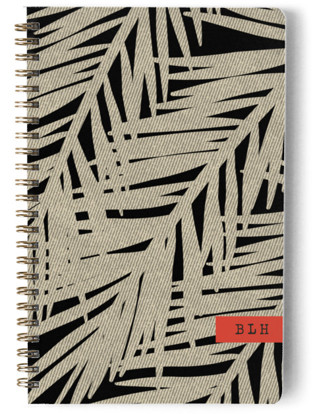 Bamboo Palms Day Planner, Notebook, or Address Book
