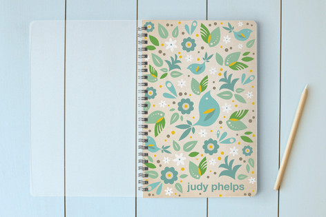 Blue Bird Notebooks