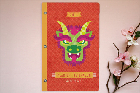 Neon Dragon Notebooks