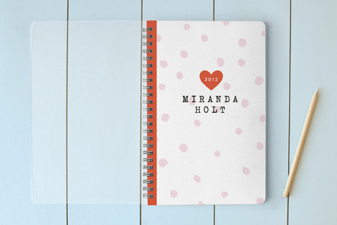 Varsity Heart Notebooks