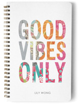 Girly Good Vibes Journal