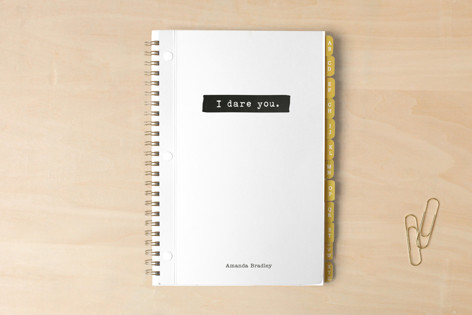 I Dare You. Notebooks