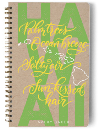 Hawaii Living Day Planner, Notebook, or Address Book