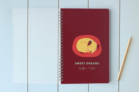 Sweet Dreams Little Pup Notebooks
