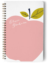 This is a pink journal by Oscar & Emma called Big Apple with standard printing on premium cover stock in notebook.