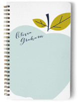 This is a blue journal by Oscar & Emma called Big Apple with standard printing on premium cover stock in notebook.