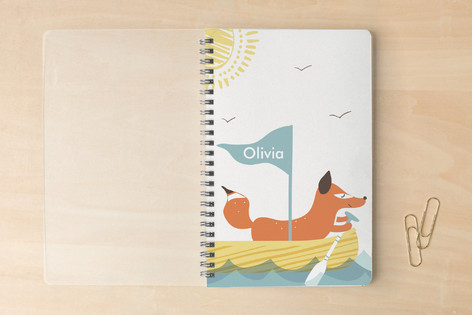 Ahoy Fox Notebooks