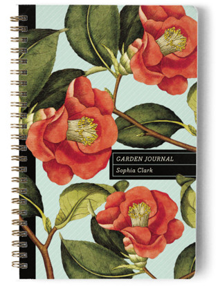 Botanical Garden Day Planner, Notebook, or Address Book