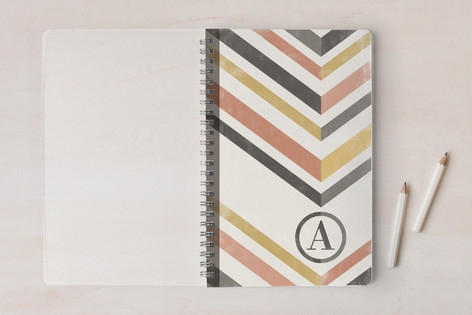 Mod Chevrons Notebooks