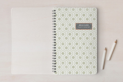 Distressed Hex Notebooks