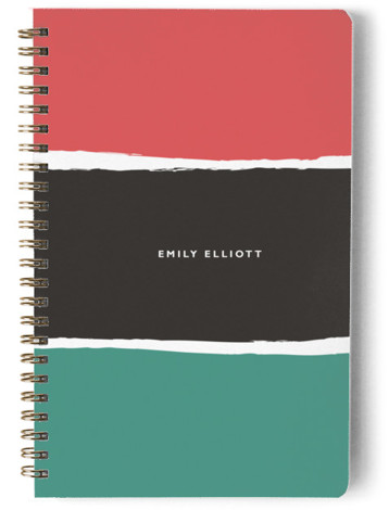 Color Block Day Planner, Notebook, Or Address Book