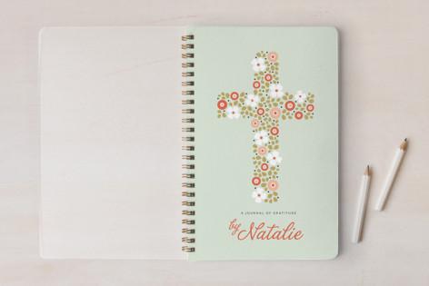 Floral Cross Notebooks