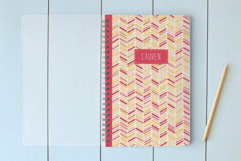 Fun Chevron Notebooks