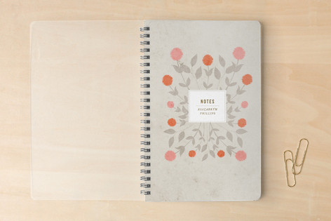 Soft Bouquet Notebooks