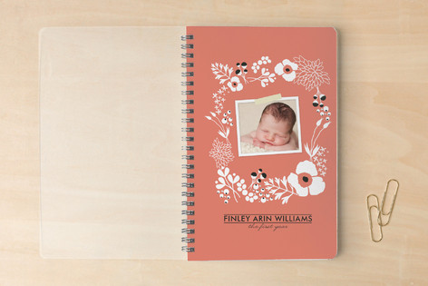 Amelia Floral Notebooks