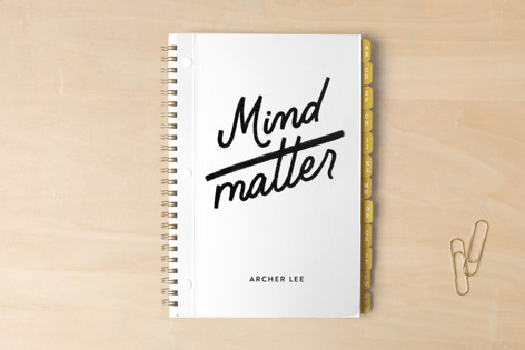 mind over matter Notebooks