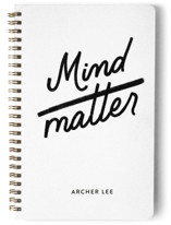 mind over matter by jot and tittle design