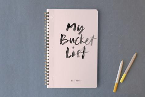 My Bucket List Notebooks