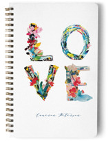 This is a colorful journal by Kiana Lee called Love is Love with standard printing on premium cover stock in notebook.