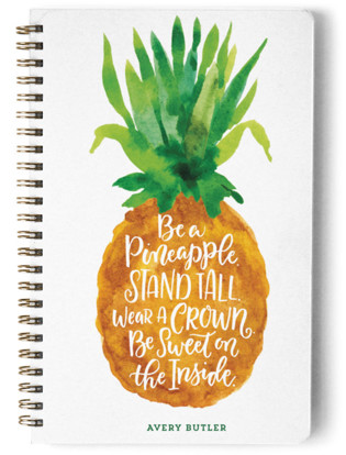 Be A Pineapple Day Planner, Notebook, or Address Book