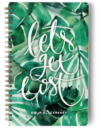 Let's Get Lost In The Jungle Day Planner, Notebook, or Address Book