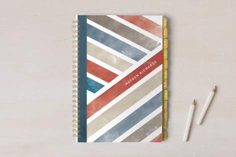 Retro Stripes Notebooks