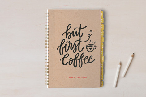 But Coffee First Notebooks