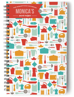 Scrumptious Day Planner, Notebook, or Address Book