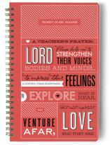 A Teacher's Prayer Notebooks