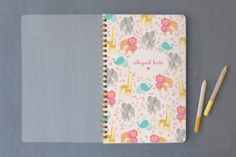 Sweet Baby Animal Parts Notebooks