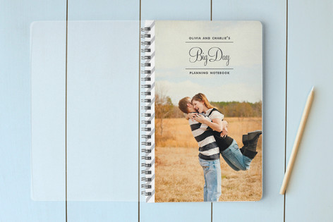 Our Big Day Planning Notebooks
