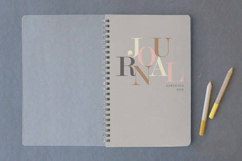 Type Journal Notebooks