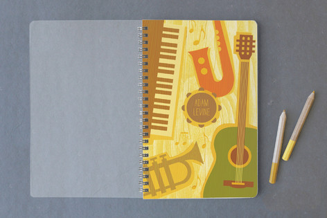 Music Notes Notebooks