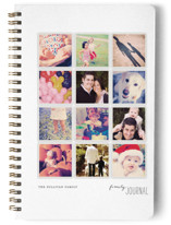 This is a black journal by Robin Ott called A Year in My Life with standard printing on premium cover stock in notebook.