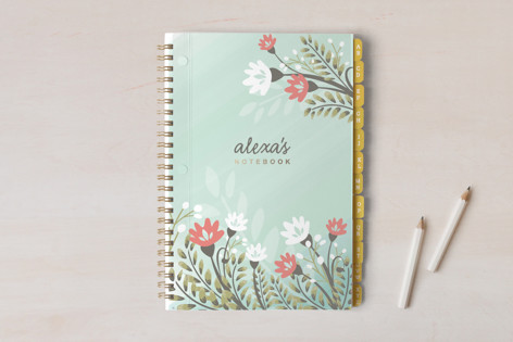 Spring Flourishes Notebooks