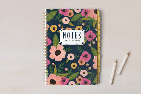 Painted Flowers Notebooks