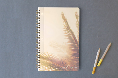 Golden Palm Tree Notebooks