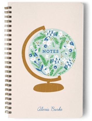 Global Flor Day Planner, Notebook, or Address Book