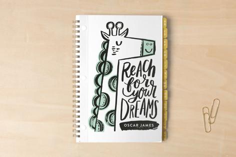Dreaming Geo Giraffe Notebooks